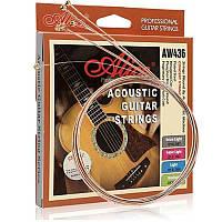 Струны для акустической гитары Alice AW436L 12-53