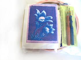 """Набор для «ковровой вышивки» """"Крокусы"""" 2 иглы"""