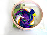 """Набор для «ковровой вышивки» """"Крокусы"""" 2 иглы, фото 2"""
