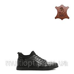 Ботинки мужские кожаные 41-46 черные