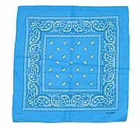 Бандана классическая голубая, фото 1