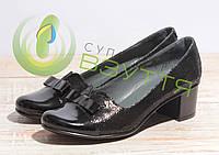 Туфли кожаные женские  арт. 40-240 36-41 размеры, фото 1