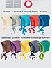 Меланжевая шапочка на завязках Disana в разных цветах