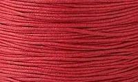 Вощенный шнур красный (примерно 400 м)