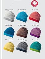 Меланжевая шерстяная шапка Disana в разных цветах, фото 1