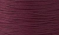 Вощенный шнур бордовый темный (примерно 400 м)