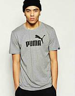 Мужская спортивная футболка Puma, Пума, серая