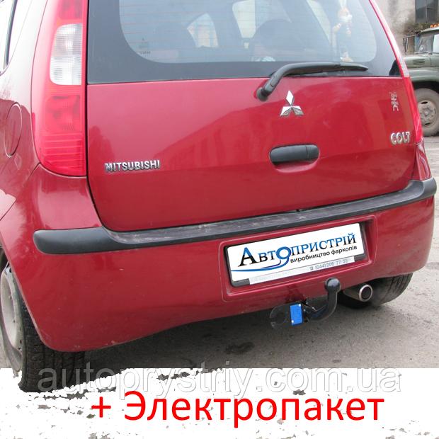 Фаркоп - Mitsubshi Colt (Z3) Хетчбек (2004-2013) 5 дв.