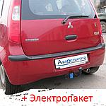 Фаркоп - Mitsubshi Colt (Z3) Хэтчбек (2004-2013) 5 дв.
