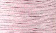 Вощенный шнур бледно-розовый (примерно 400 м)