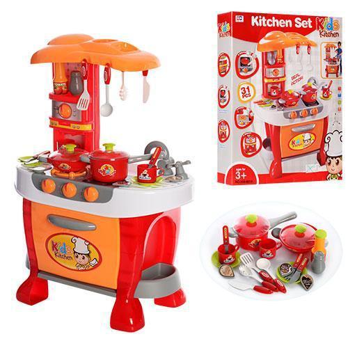 Детская игровая кухня с музыкой