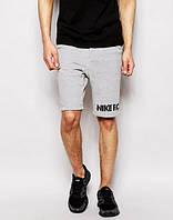 Мужские спортивные шорты NIKE, найк, серые (в стиле)