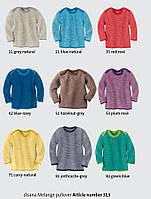 Меланжевый шерстяной свитер Disana в разных цветах, фото 1