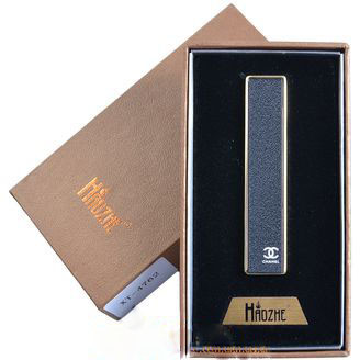 USB зажигалка в подарочной коробке (Спираль накаливания, Слайдер)