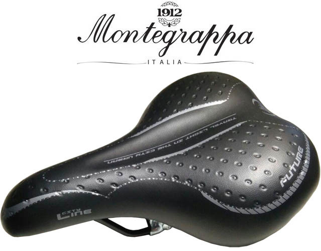 Седло велосипедное Selle Monte Grappa City Line Lady (SIM1901) Black