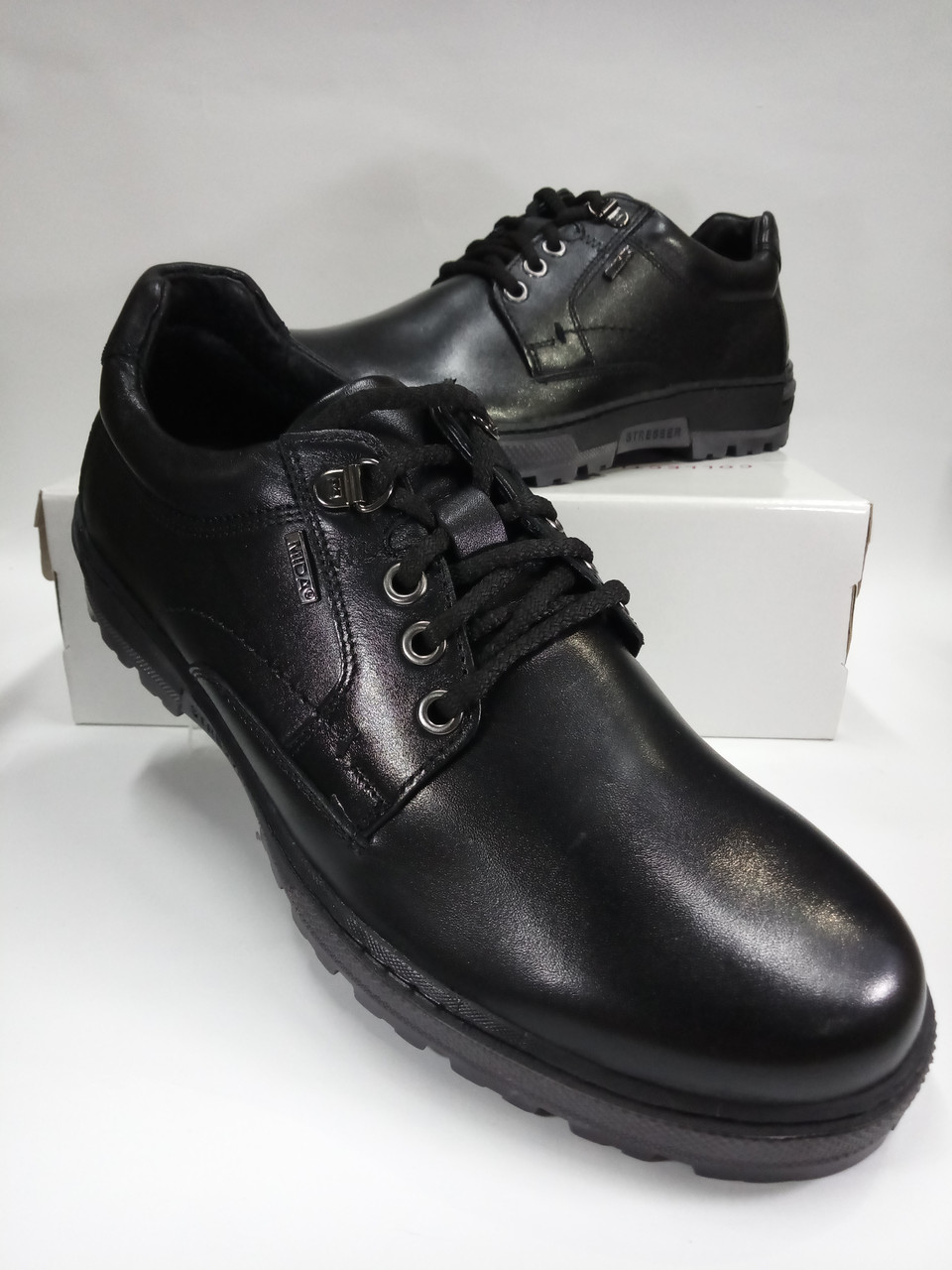 Туфли мужские из натуральной кожи МИДА 11562