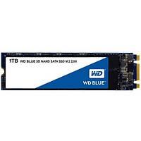 Жорсткий диск внутрішній SSD 1 Tb Western Digital SSD Blue M.2 1 TB (S100T2B0B) (WDS100T2B0B)