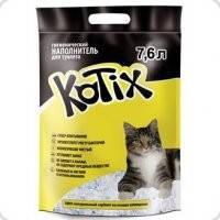 Наполнитель для кошачьего туалета  KOTIX   7,6 L