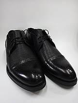 Мужские туфли Lioneli Lv 3061-01 из натуральной кожи., фото 3