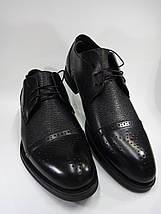 Мужские туфли Lioneli Lv 3061-01 из натуральной кожи., фото 2