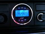 Автомобильные часы, термометр, вольтметр VST-7042V, фото 3