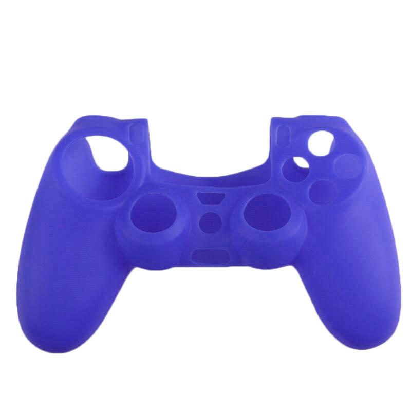 Силиконовый чехол Game Teh X для джойстика PS4 Синий (Арт. 10009)