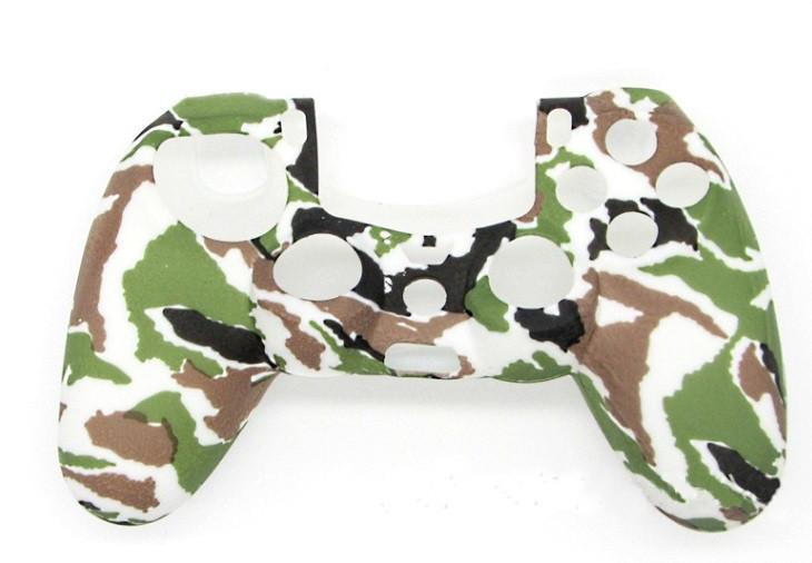Силиконовый чехол Game Teh X Military 2 для джойстика PS4(Арт. 1011)