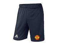 Мужские футбольные шорты Манчестер Юнайтед, Manchester United, темно-синие