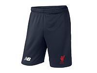 Мужские футбольные шорты Ливерпуль, Liverpool, темно-синие