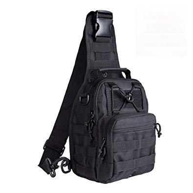 c6094ab04fd2 Сумка тактическая плечевая EDC. Цвет - Черный.: продажа, цена в ...