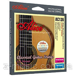 Струны для классической гитары Alice AC136N 28-43