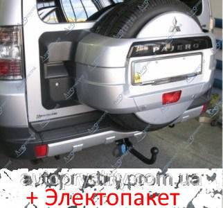 Фаркоп - Mitsubishi Pajero Wagon (LWD) Позашляховик (2007--)