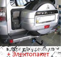 Фаркоп - Mitsubishi Pajero Wagon (LWD) Позашляховик (2007--), фото 1