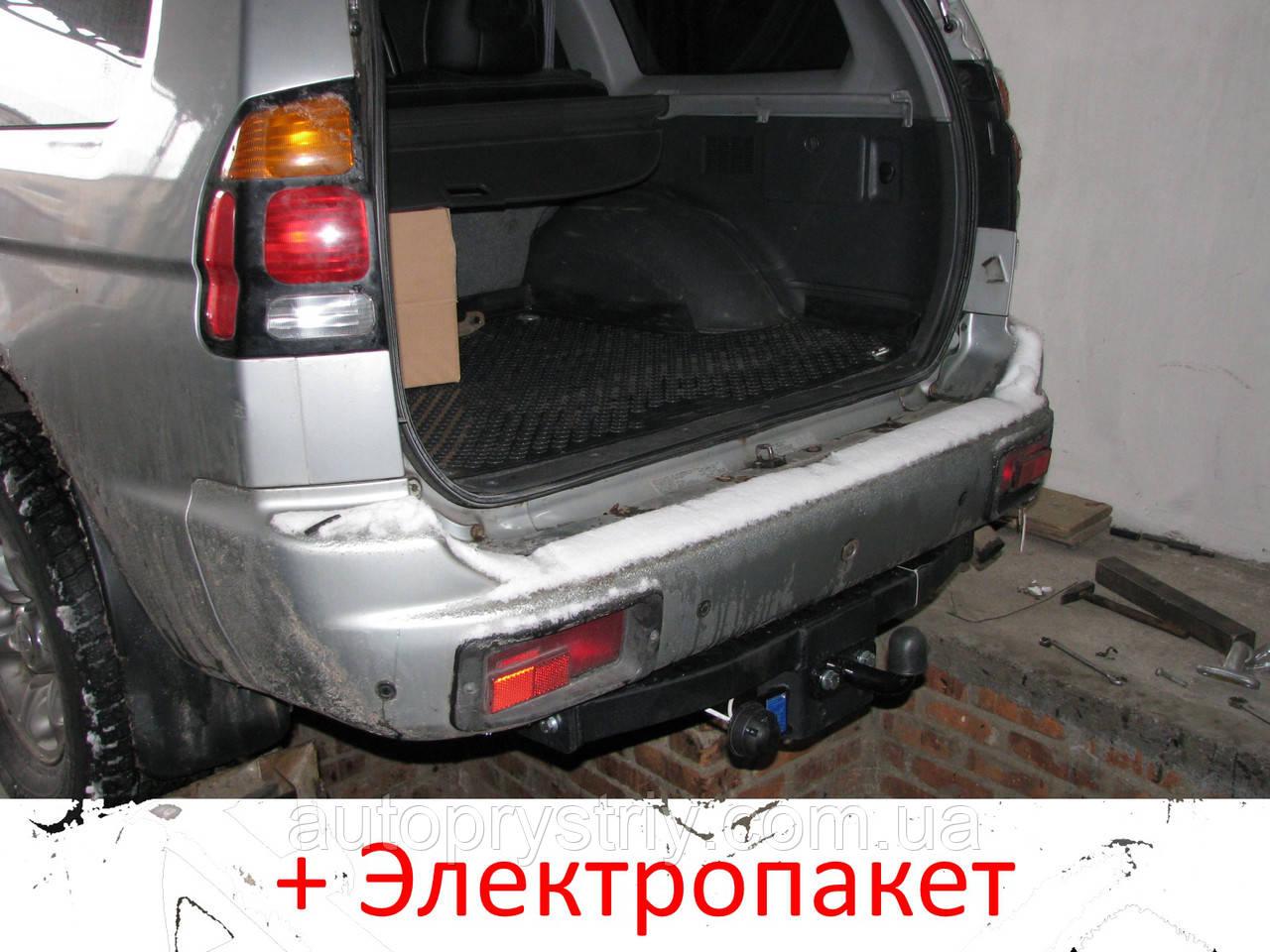 Фаркоп - Mitsubshi Pajero Sport Внедорожник (1998-2009)
