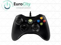 Проводной геймпад Microsoft Xbox 360 Controller Original for Windows PC. Джойстик Xbox 360 Black 52A-00003