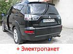 Фаркоп - Mitsubishi Outlander XL Кросовер (2007-2012)
