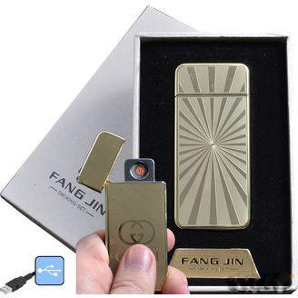 """USB зажигалка в подарочной упаковке """"FANG JIN"""""""