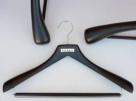 Плечики вешалки деревянные  Mainetti черного цвета ,44,5 см