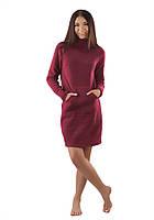 Теплое домашнее платье (XS-3XL в расцветках), фото 1