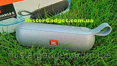 Колонка портативная JBL Charge 8 Bluetooth 10W Серебро 1500mAh, фото 2
