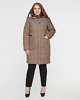 Зимнее пальто большие размеры, цвета, фото 1