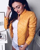 Женская лёгкая куртка весна / осень на синтепоне