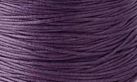 Вощенный шнур фиолетовый (примерно 400 м)