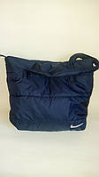 Сумка женская стеганная, женская сумка, черная сумка, сумка из ткани