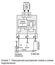 Термостат для котла з цифровим датчиком terneo rk 32А, фото 3
