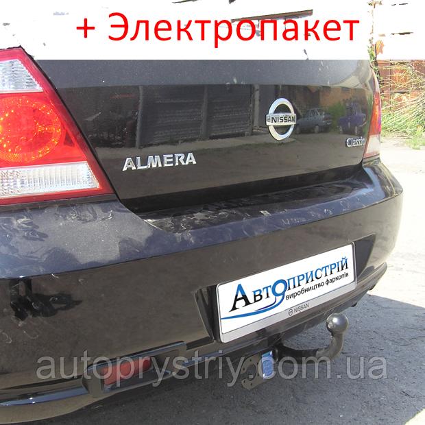 Фаркоп - Nissan Almera (B10) classik Седан (2006--)