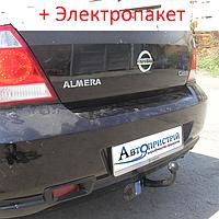 Фаркоп - Nissan Almera (B10) classik Седан (2006--), фото 1