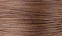 Вощенный шнур коричневый (примерно 400 м)
