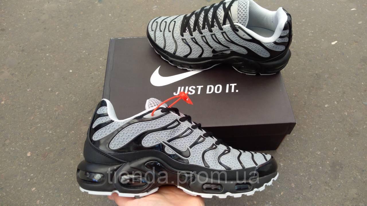 6dc1716d Мужские Кроссовки Nike Air Max Tn Plus Gray (серый каучук ) Мужские кроссовки  найк аир