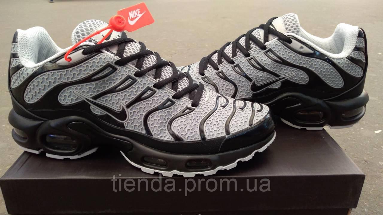 63c28067 Мужские Кроссовки Nike Air Max Tn Plus Gray (серый каучук ) Мужские кроссовки  найк аир ...